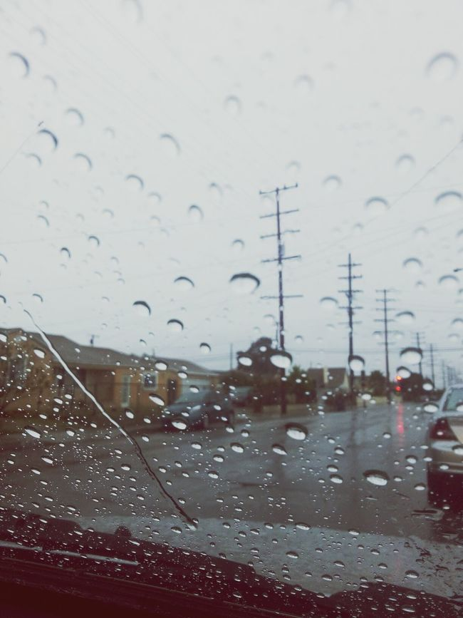 out on your corner in the pouring rain♪♫♬ Rain Raindropshot Gloomy Day Wishihadsomeoneticuddlewith