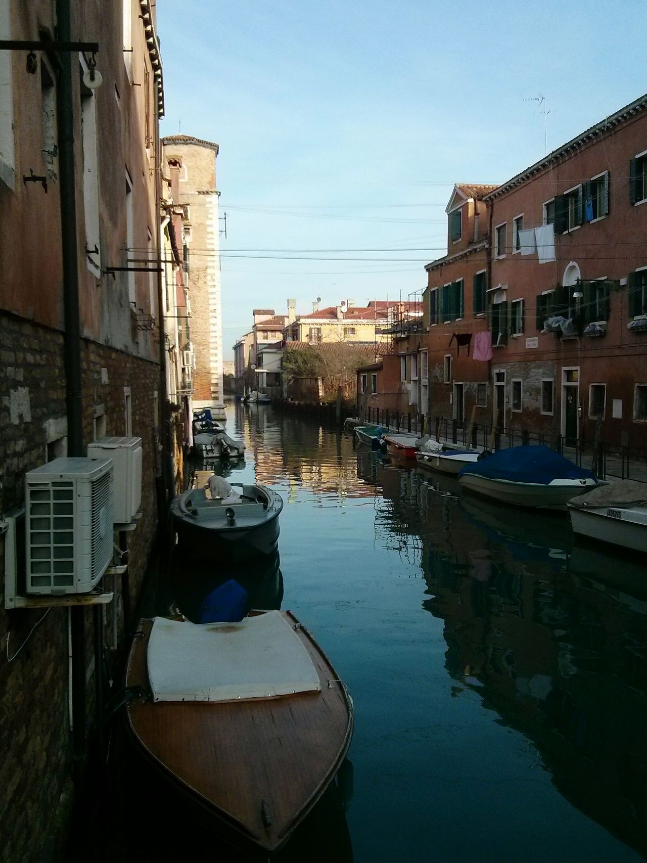 Canals of Venice. · Venezia Italy Venice Canals Channels Water Boats Urban Landscape Learn & Shoot: Leading Lines