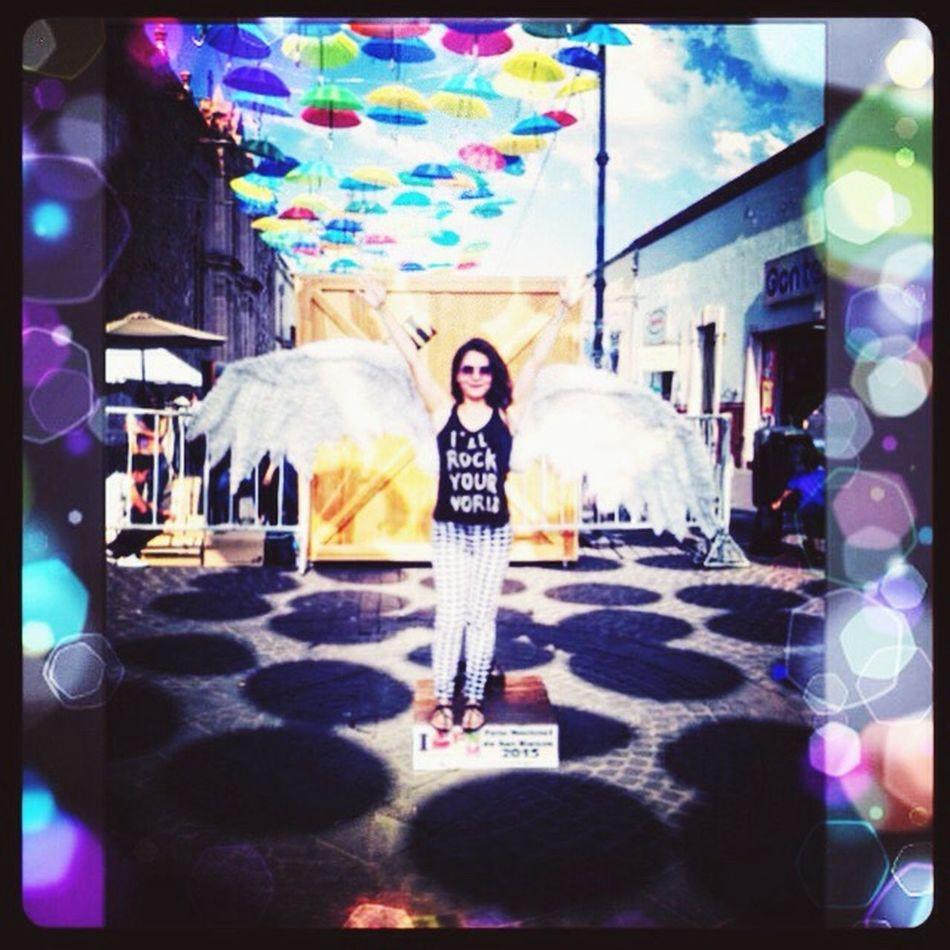 Original Experiences Hieveryone Peka Cure Isan Angel Aguascalientes Love ♥ Theview Thevividworld Colors Umbrellas Mexico