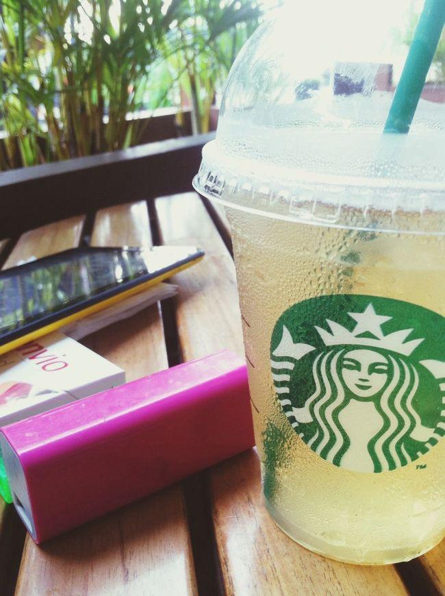 Starbucks Drinks Speermintgreentea Ice jakarta indonesia