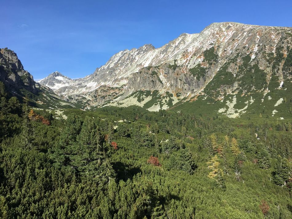 Clear Sky Clear Sky Summer Day High Tatras Mountain Mountain Climbing Nature No People Outdoors Tourist
