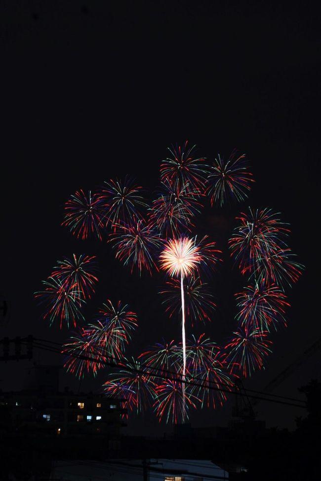 多摩川花火大会 Enjoying Life Hanabi Festival Fireworks Setagaya Tokyo Japan