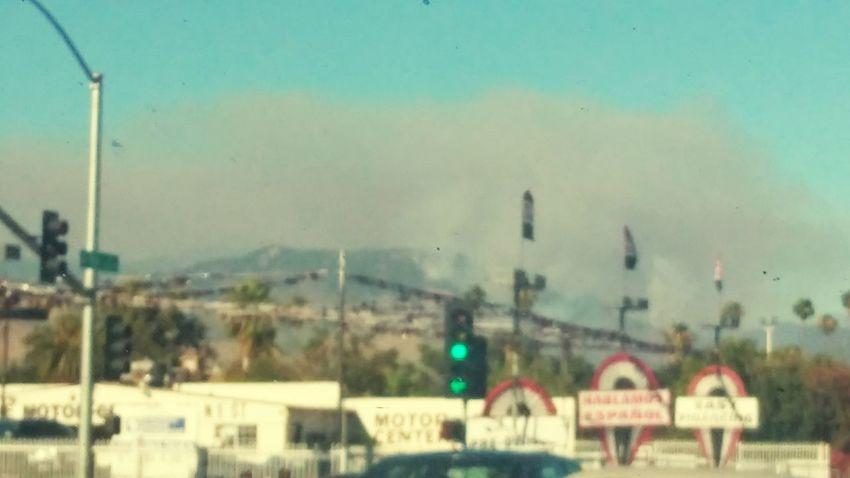Smog In The Sky Fire Smoke