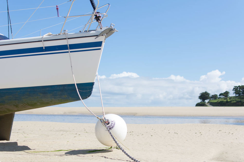 Beautiful stock photos of boat, Absence, Beach, Boat, Cloud