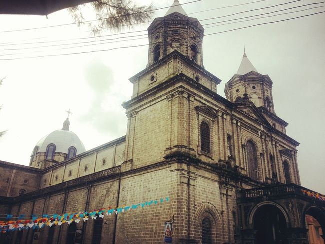 "Holy Rosary Parish, fondly called as ""Pisambang Maragul( Big Church)"" stands in the epicenter of Angeles, Pampanga, Philippines. The church has been recently recognized by the National Commission for Culture and Arts as a National Historical Site. Pampanga, Philippines Church Pilgrimage Catholic Church Parish Church History Culture Architecture God Jesus First Eyeem Photo Religion Place Of Worship Travel Destinations Spirituality"