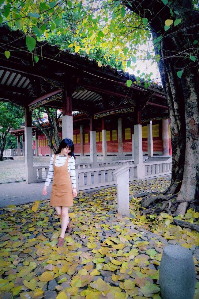 开元寺 Quanzhou China Temple Leaves People Photography