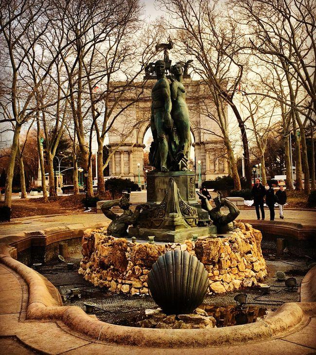 Brooklyn Prospect Park Sculpture New York