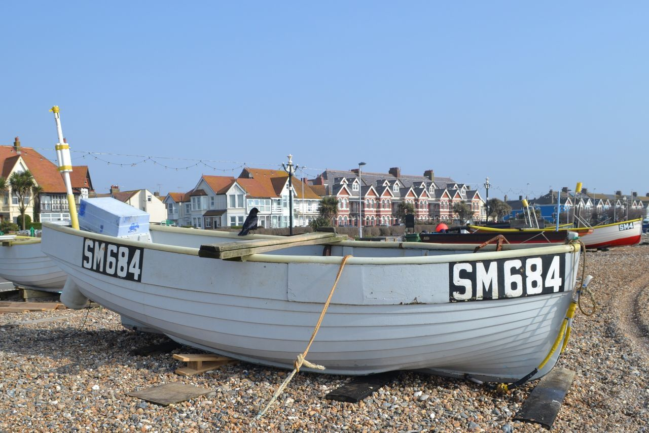 Boat Fishing Boat Text Worthing West Sussex Worthing Beach Beach Fishing Outdoors