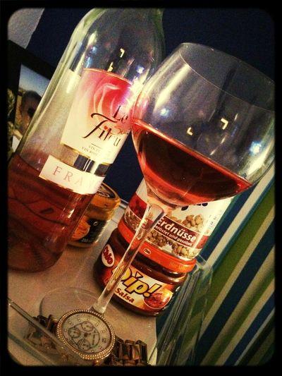 Mädelsabend Wein Nachos Liebe