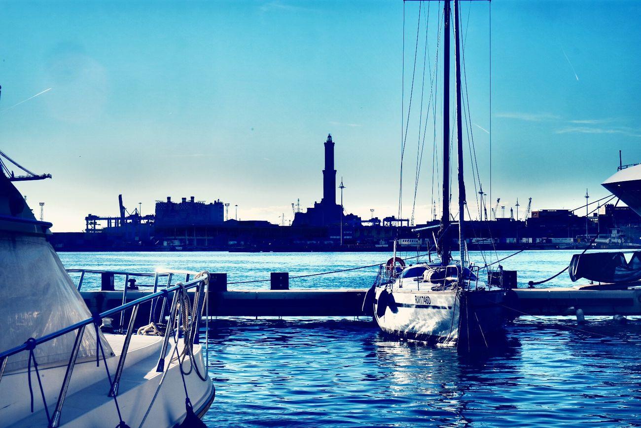 Genova Port Sea