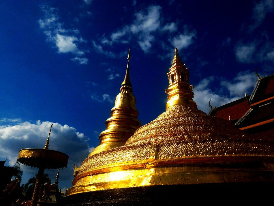 Gold Colored Gold Sky Outdoors Spirituality Place Of Worship