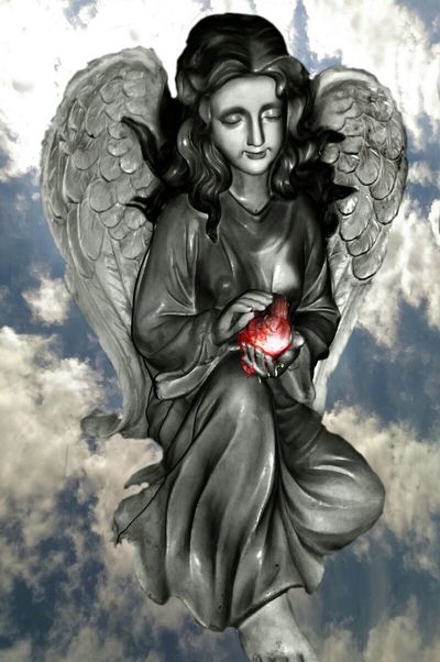 """https://youtu.be/LCZEYyKlEwM In This Moment """"At least I can say I loved..."""" The Impurist Human Experience Heart In The Clouds  Touched By An Angel  Sky Lovers Rejoice Dancing With The DEAD Statueporn Musical Photos Untold Stories Into The Nothing with Planet Dirt"""