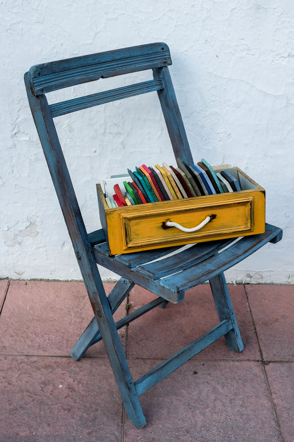 Absence Books Chair Close-up Drawer Mobile Library Multi Colored No People Wood - Material