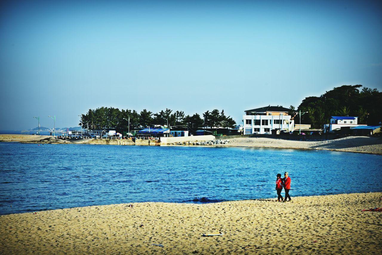 Lifelong friend named... Husband and wife. Couples❤❤❤ Beachphotography Beach Walk Taking Photos Relaxing Sea Side Nostalgia Ayajin-beach Kangwon-do South Korea Sea View Nikon D750 EyeEm Gallery Nikon_photography_ Lovers Beutiful Couple