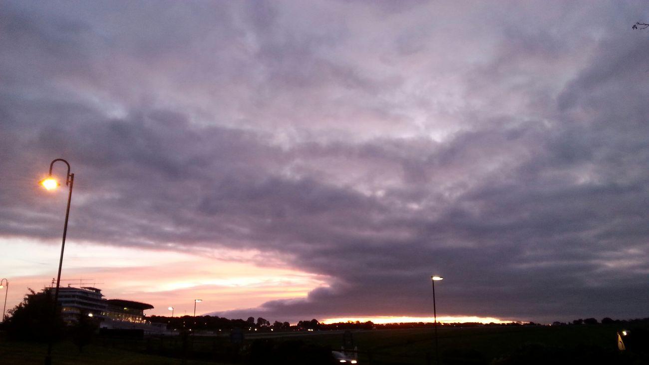 Epsom Downs Morning Light At Dawn  Sunrise