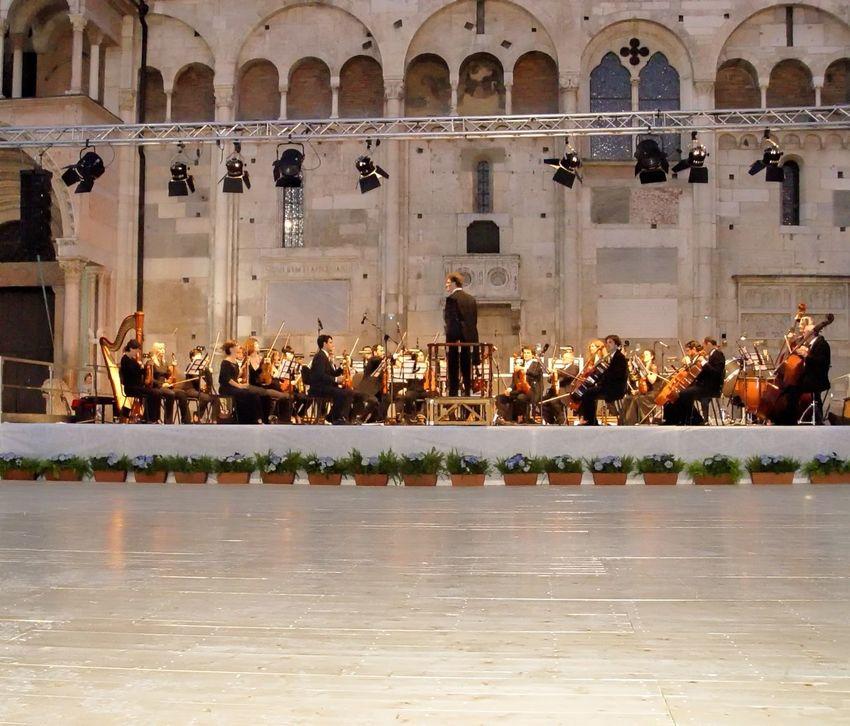 Gran Ballo Estense Architecture Classical Music ❤️ Concert Outdoors People Piazza Grande Ready To Go Rehearsing TakeoverMusic