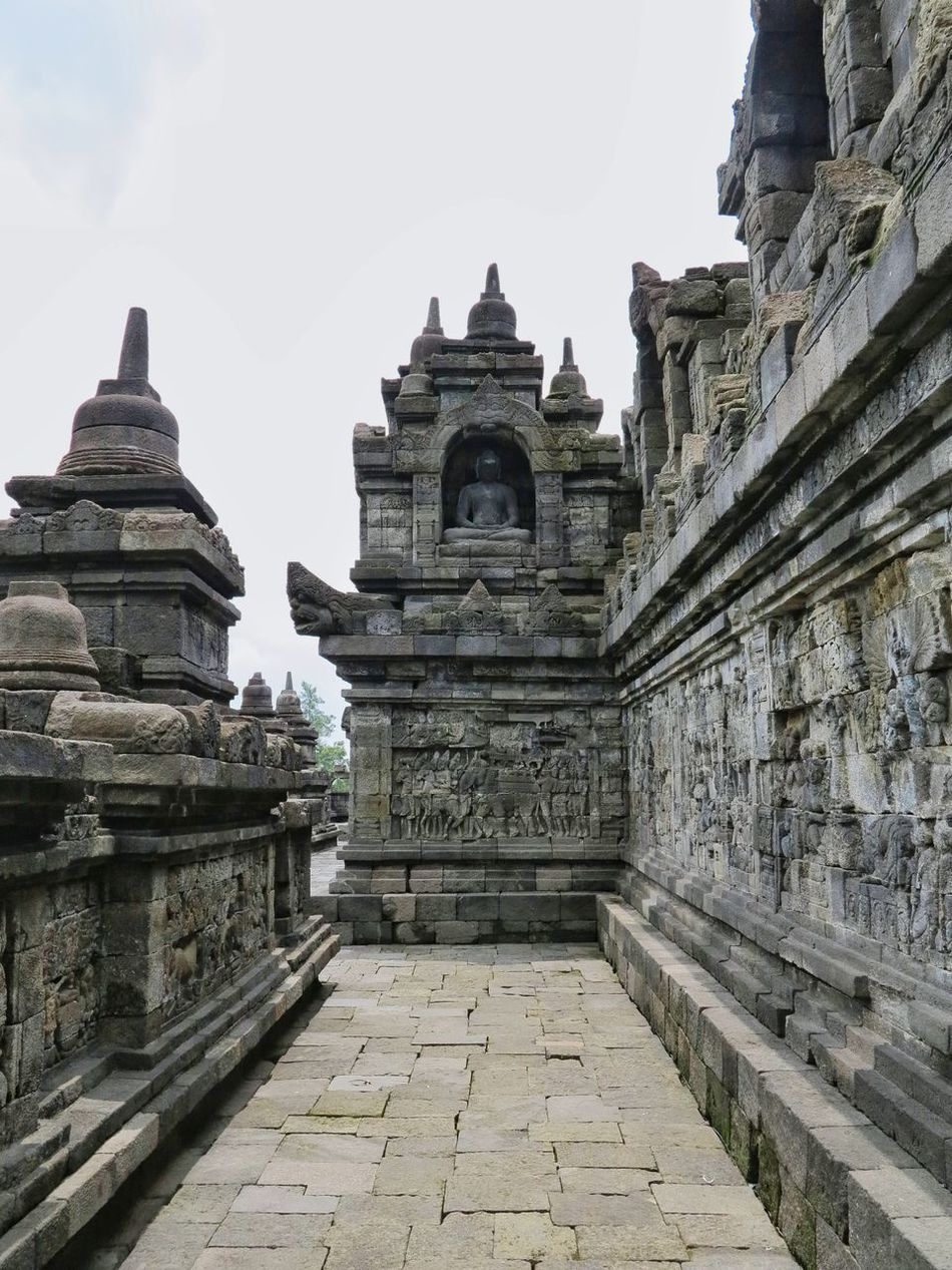borobudur temple back in 2014 Religion Architecture Place Of Worship Sky Built Structure Travel Destinations Spirituality Building Exterior Ancient Day Outdoors No People Borobudur Temple Borobudur INDONESIA Indonesia_photography Indonesia Scenery Indonesia Culture