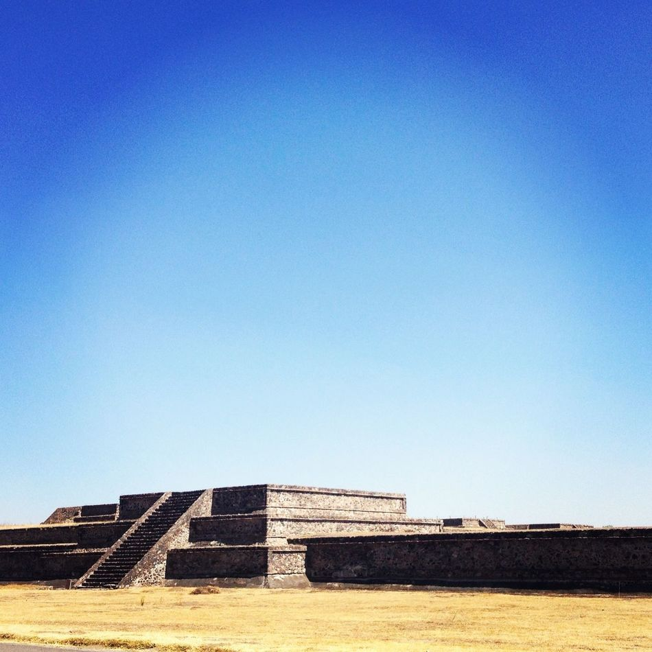Landscape Mexico Culture piramides de Teotihuacan.