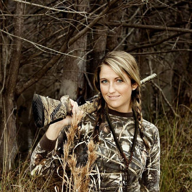 Even our own CamoGirl Co-Founder Jenn Wilks does a CamoGirl shoot from time to time:) Camogirlbrand Camogirllife Camogirl