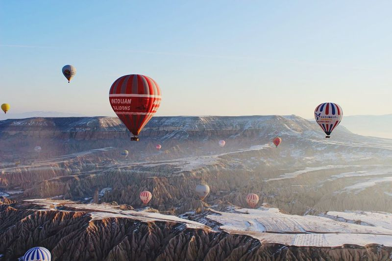 Kappadokya Turkey Balloon Fromthesky 気球 トルコ カッパドキア 旅行 Traveling Travel Photography Travel 空から Vew Pic Picture Photography 写真