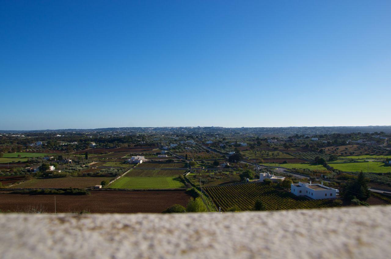 Clear Sky Day Italy Landscape Locorotondo Outdoors Sky