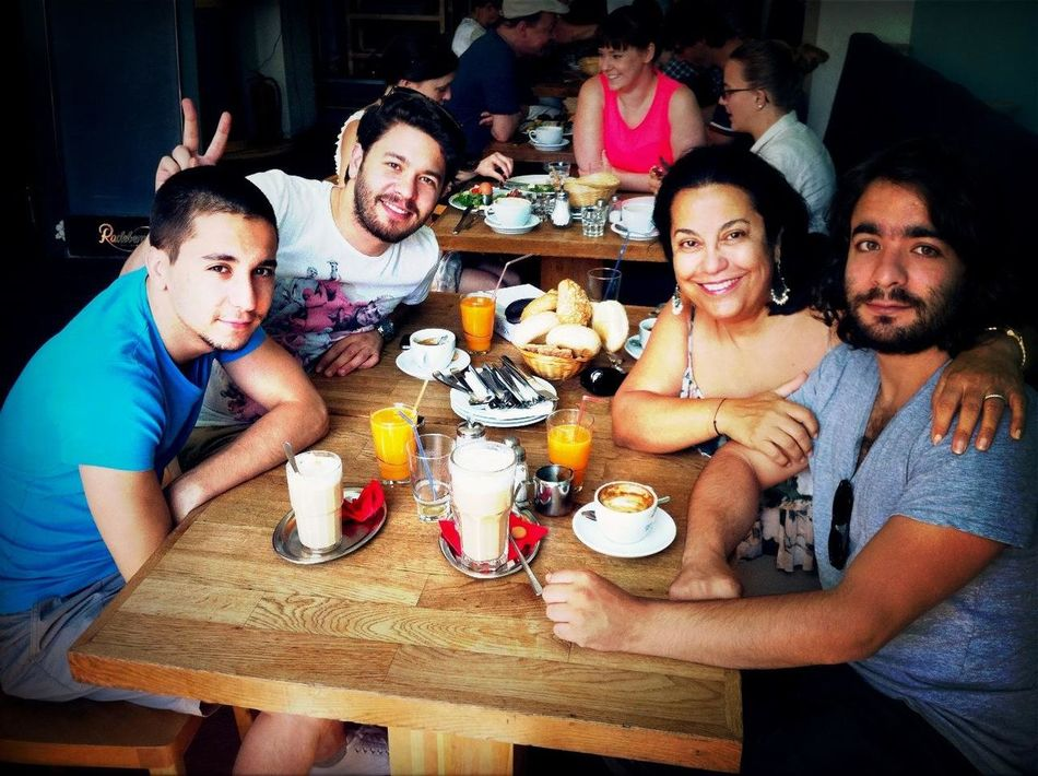 Brunching With My Boys