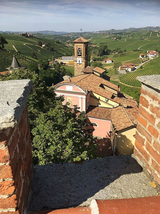 Italy🇮🇹 Check This Out View From A Castle  Barolo Wineyards Travel Photography Special👌shot Taking You On My Journey 😎 EyeEm Best Edits 43 Golden Moments, No People EyeEm Gallery Enjoying Life Wine Tasting Nature Sky And Clouds Church