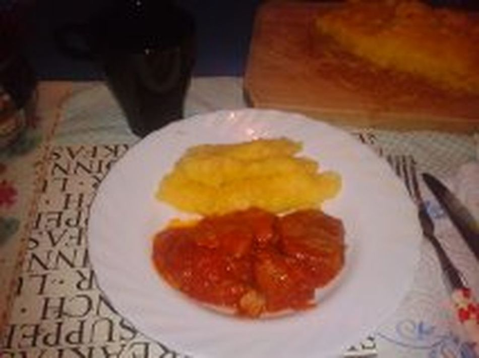 Food And Drink Hungry! Meal Meat! Meat! Meat! Polenta XD Ragu Ready-to-eat Smiles To My Haters