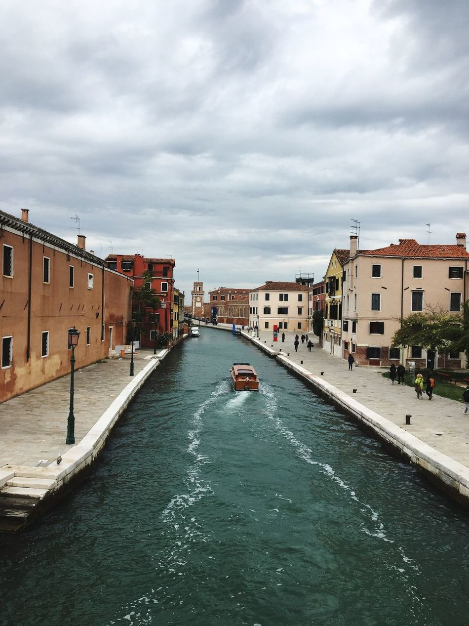 It was very nice Building Exterior Sky Built Structure Water Canal Nautical Vessel Transportation Mode Of Transport Waterfront Cloud - Sky Outdoors City Day Nature No People Venice, Italy Boat Beautiful Colors Withphone Sunshine Nature City Outdoor Photography