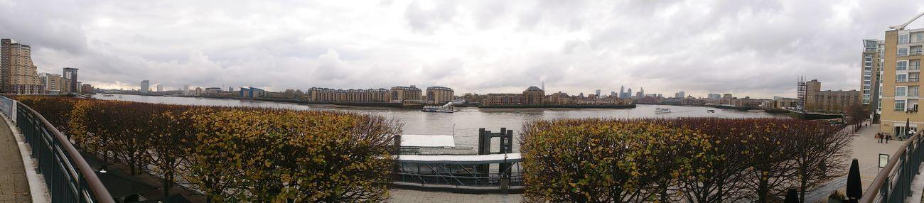 Thames River Panaramic
