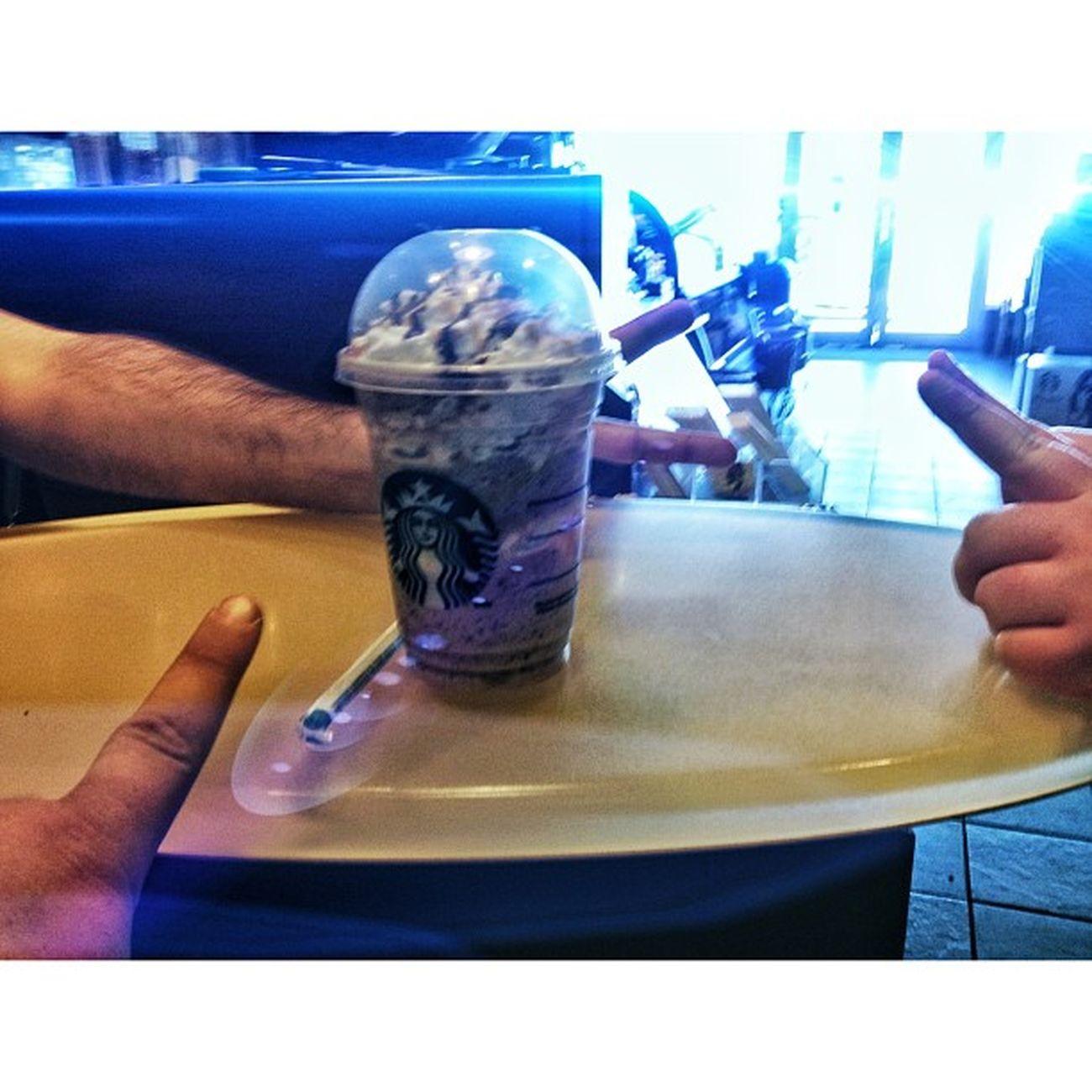 @akshay_singh the drink master!!! Starbucks Hardatwork Frappucino Yoloswaggins