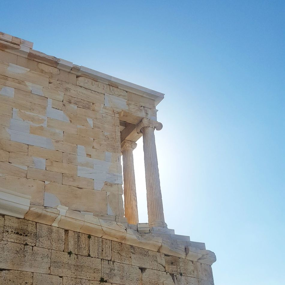 Greece Acropolis, Athens Parthenon Acropolis Greece History Clear Sky Sky Architecture Travel Destinations Day Sun Lovelife