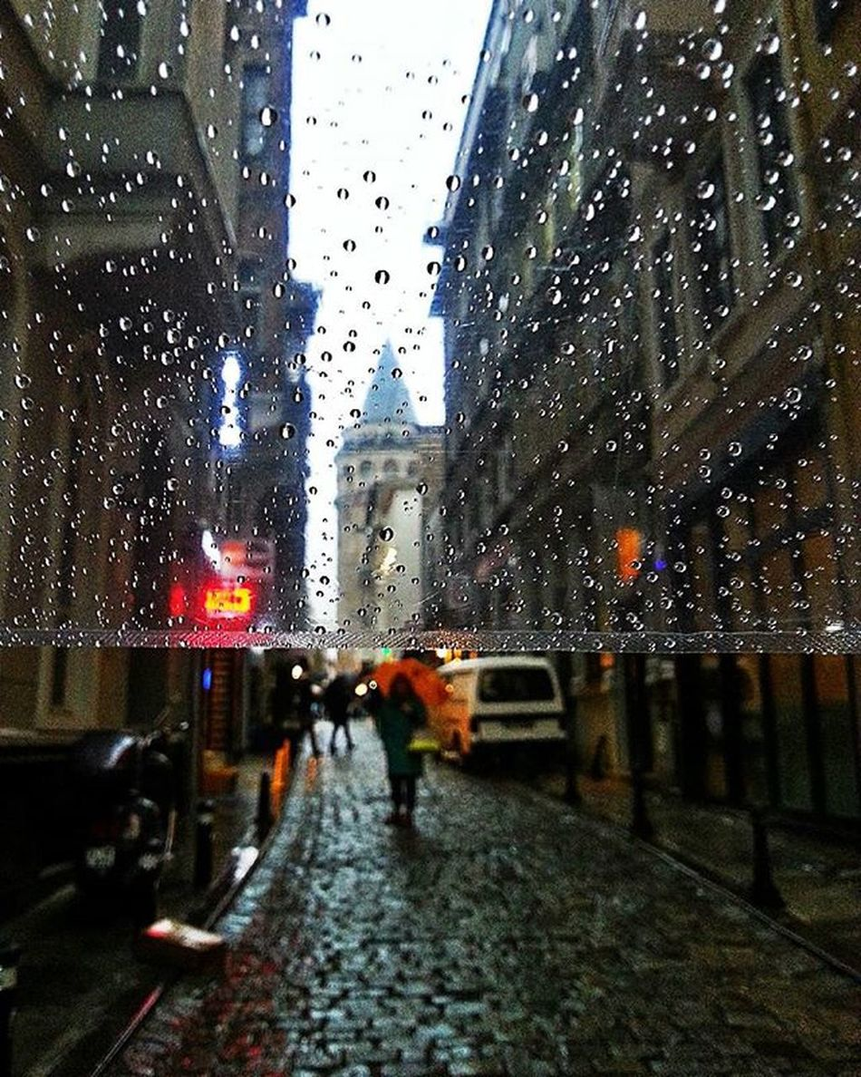 Things I Like RainyDay Galatatower Memories Traveldays Streetphotography Street Street Photography Umbrella Drops RainDrop Raindropshot Transparent Transparents Travel Photography Travelphotography Architecture_collection