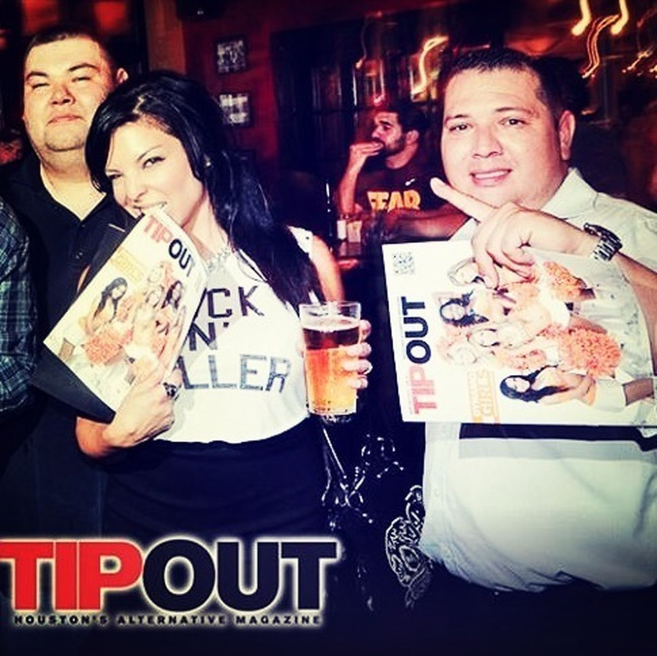 @Tipoutmagazine Re-Launch party! Have you nabbed a copy to read my latest Top5? Do It! XoXo