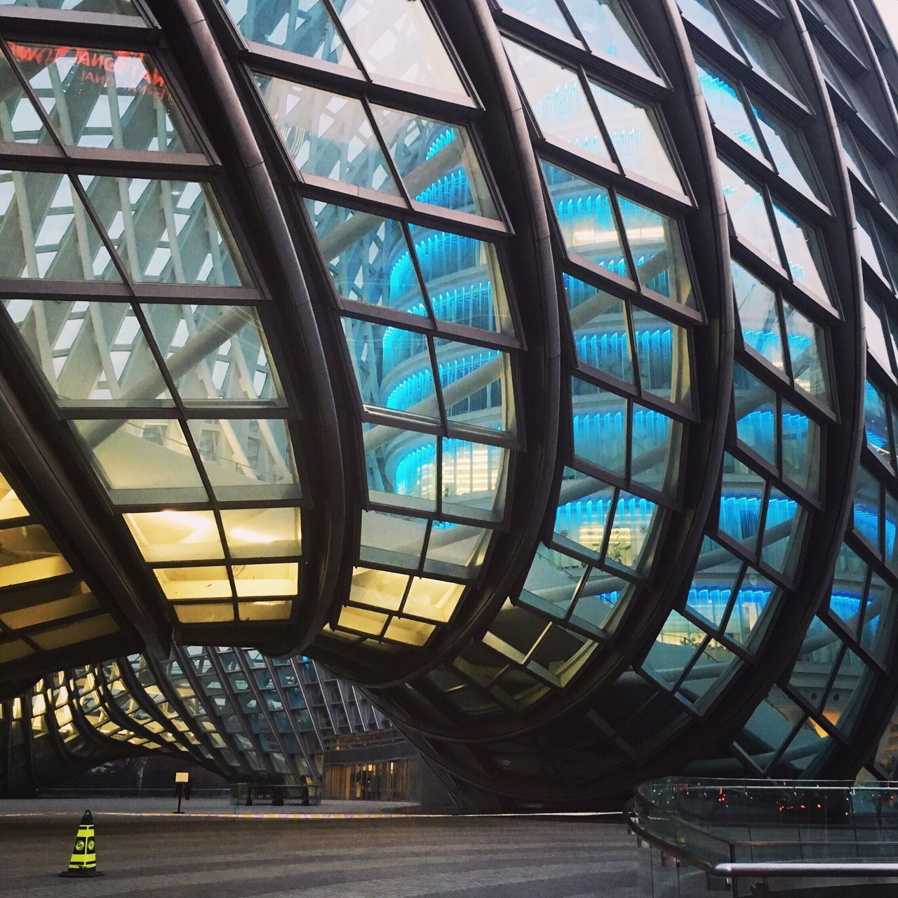 The Architect - 2017 EyeEm Awards Glass - Material Architecture Built Structure Indoors  Modern Day Travel Destinations Low Angle View No People City Clock Exterior Exterior Design Colorful Building Exterior Building