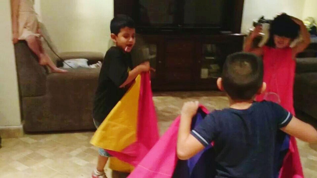 jugar a ser torero Mi Hijo  Mis Hijos Toreros Toreros Toros