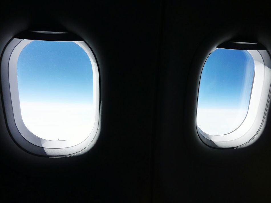 Look at me ! Blue Wave Blue Sky Check This Out! Showcase April Light And Shadow Soft Light Iceblue Eyes Airplane Windows EyeEm Gallery Travel