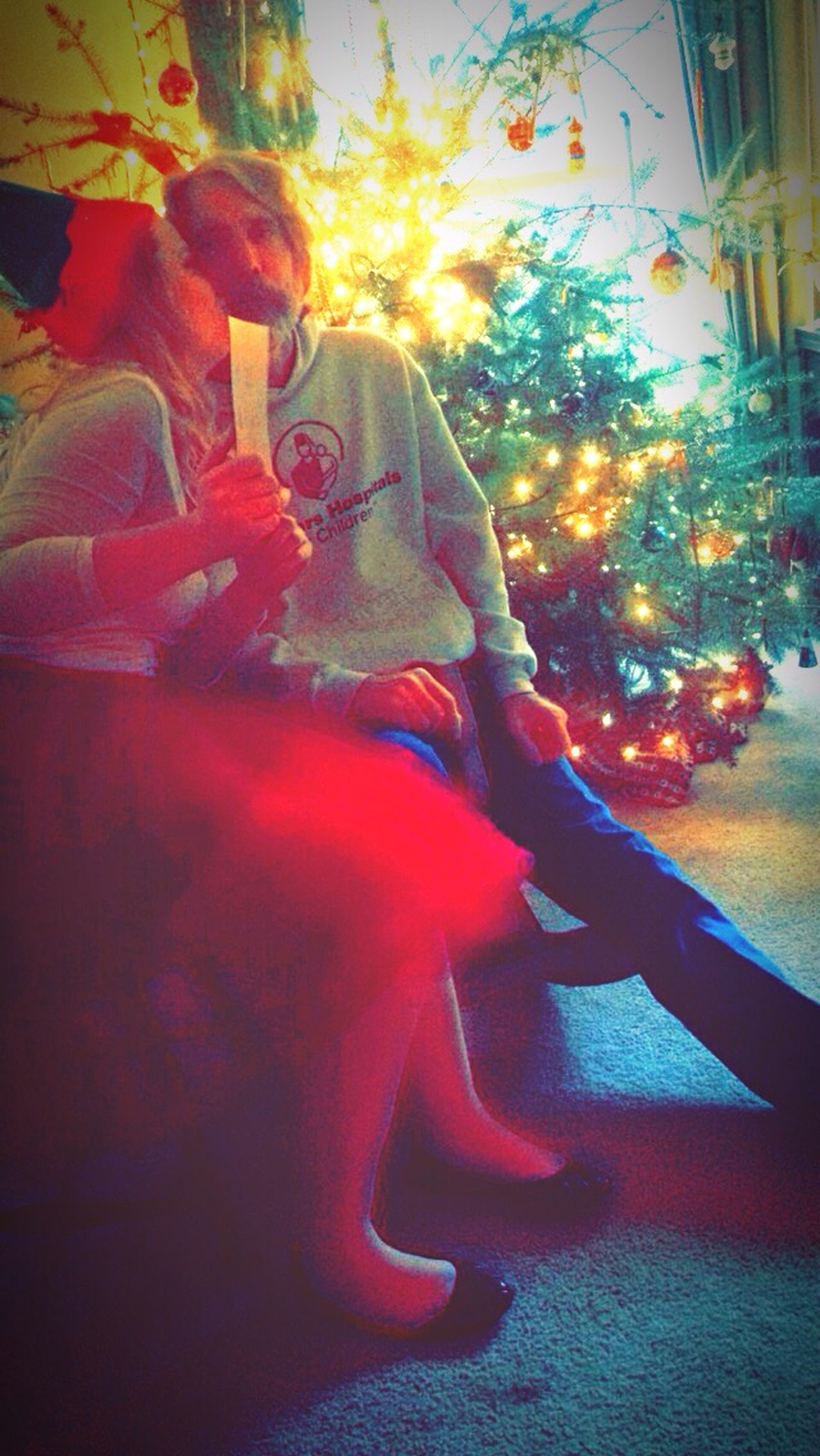Way Back To Christmas Father And Daughter Love