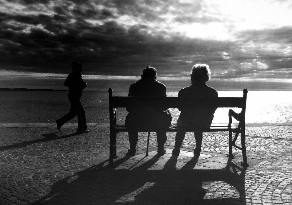Beautiful stock photos of old, Back Lit, Beach, Bench, Boyfriend