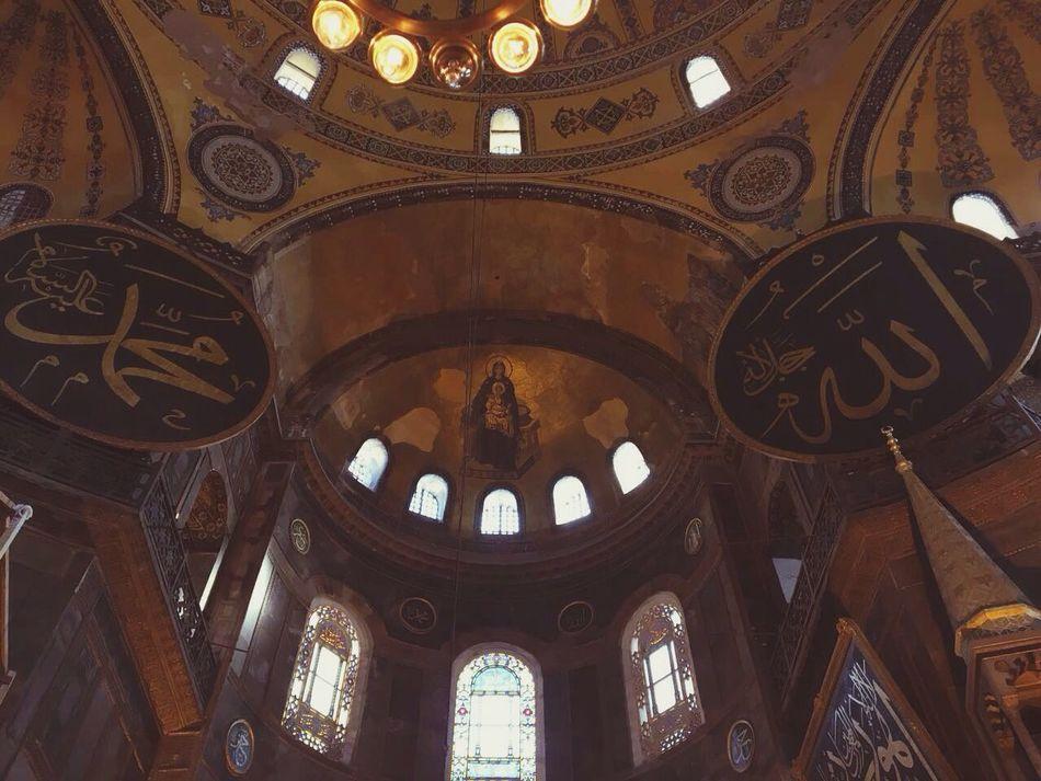 Travel Indoors  Travel Tourism Architecture Day Ayasofya Ayasofya (Hagia Sophia) Arch Tarihimekan Sultanahmet Istanbul Tarihiyarimada Tarihieser Eminönü