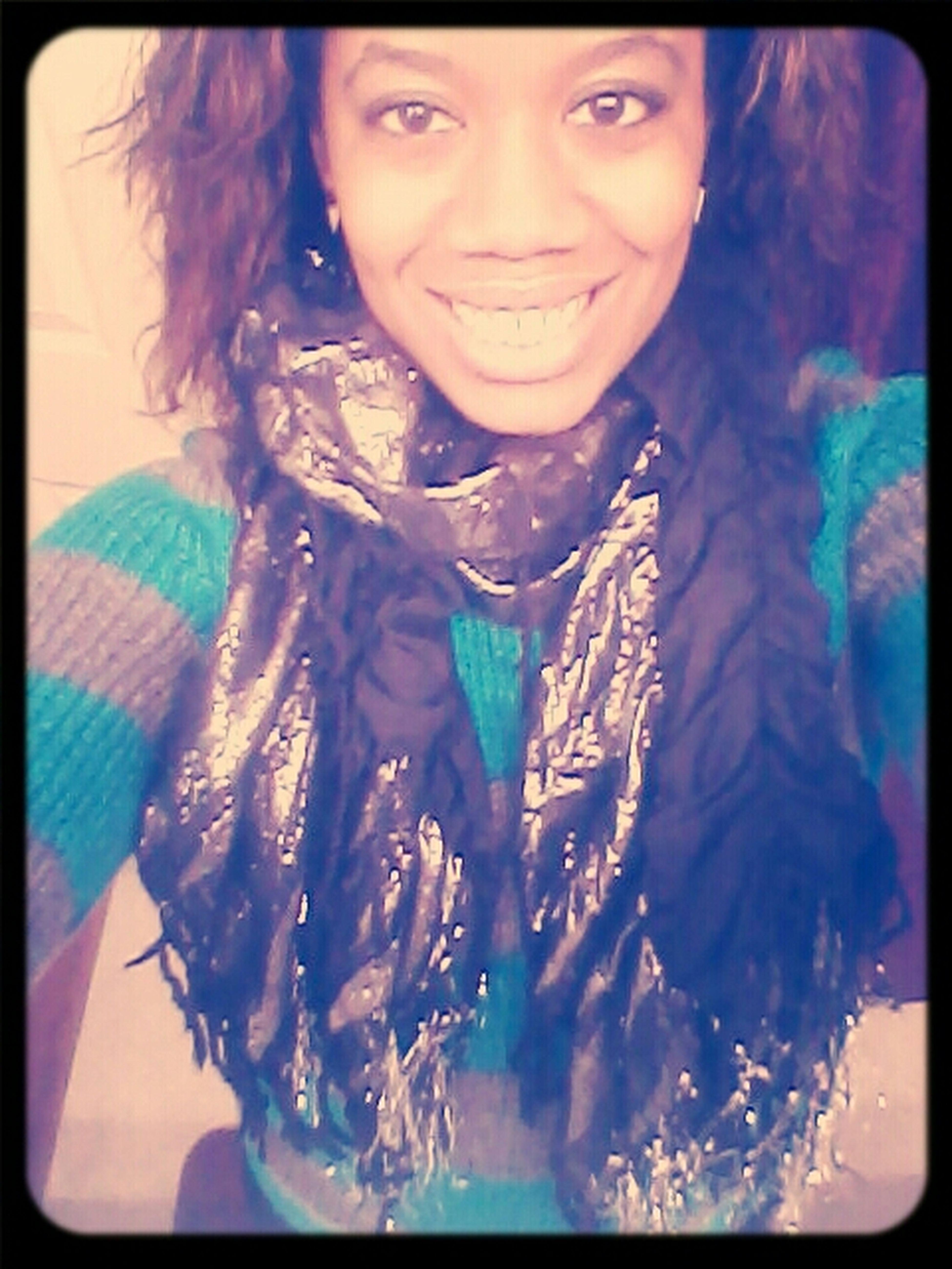 Curly hair .
