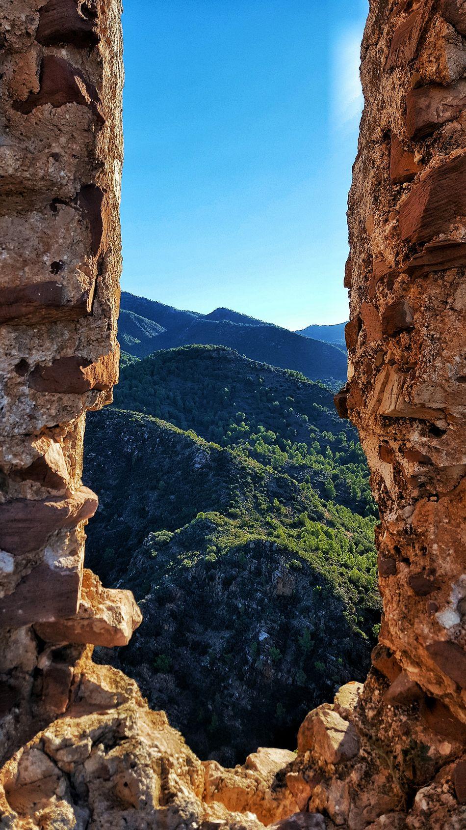 Montaña Montanas Mountains Mountain Montaña De España Castillo Del Real Castillo Del Real Olocau Sierra Calderona