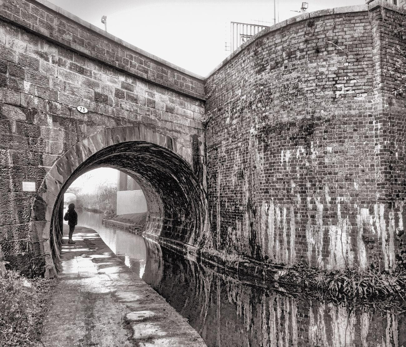 Blackandwhite January2016 Rainy Walks Derelict Building Congleton Macclesfieldcanal Canal Waiting Industrial Industrialbeauty Cheshire Macclesfield Canal Black And White Showcase: January Landscape Canals And Waterways Outdoors