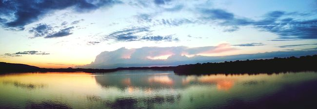 Arkansas River Arkansas Sunrise Pinnacle Mountain Water Clouds River