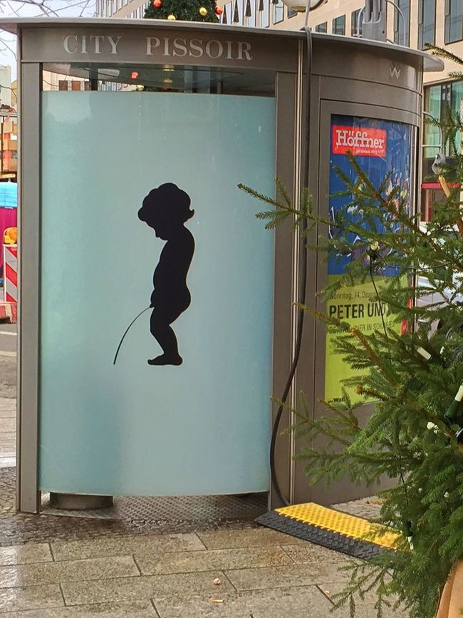 City City Pissoir Day Let It Go No Offense Outdoors Publicity Relief Restroom Sign Street Streetphotography Toilet