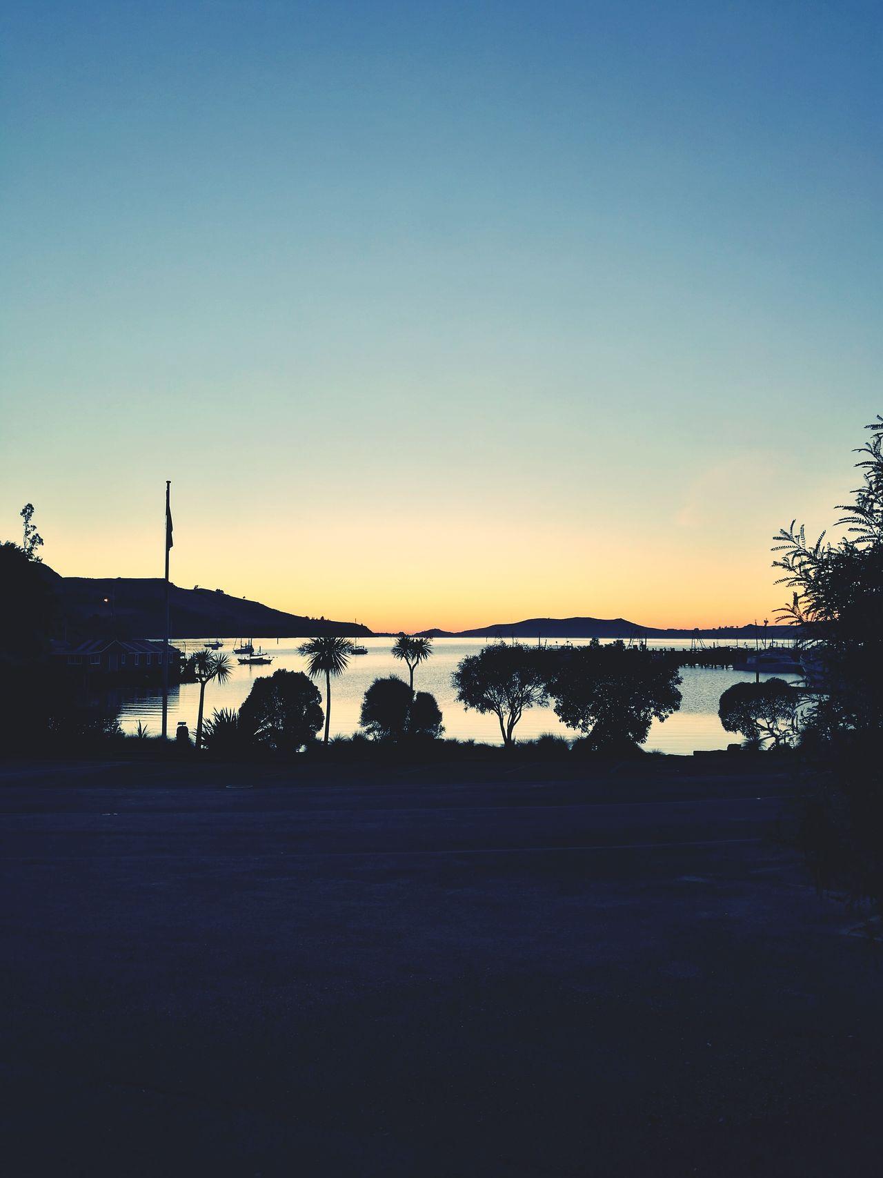 Crisp morning sunrise