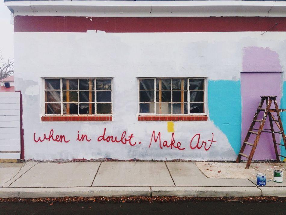 Perry, NY Graffiti Art Make Art Paint Mural