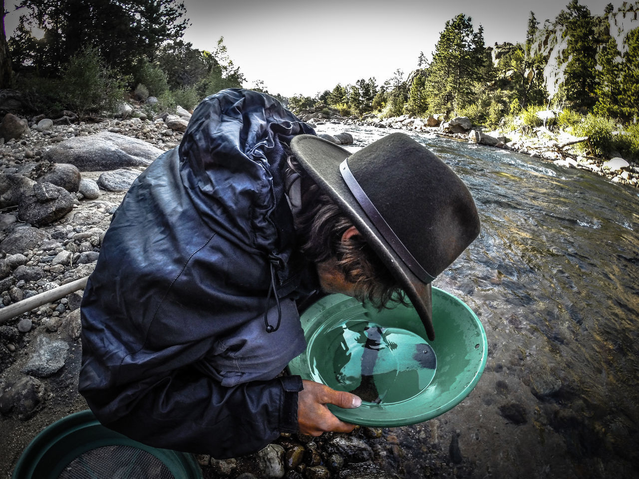 Prospecting Panning For Gold Colorado Photography Gold Goldrush Goldfever Arkansas River