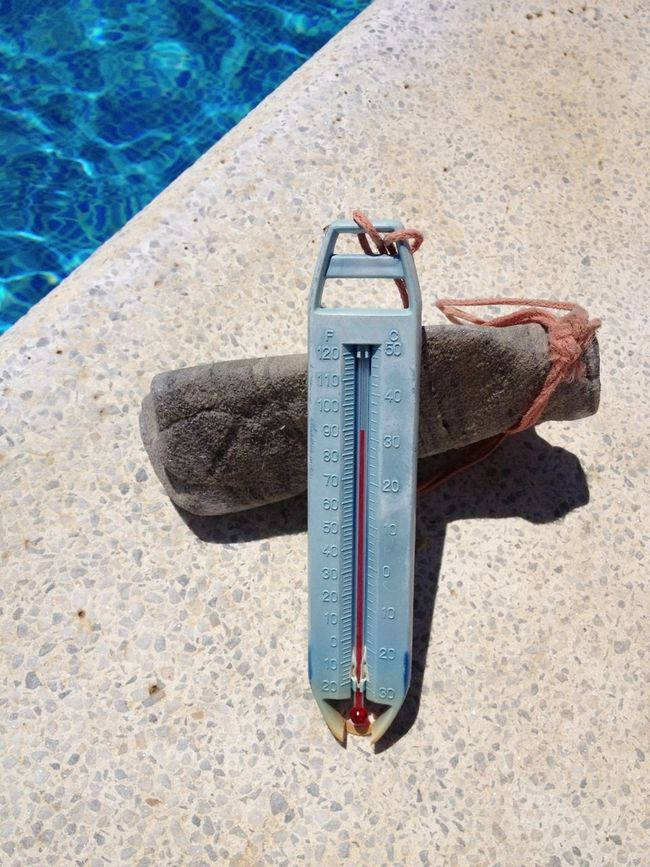 94 Degrees Today... Too Hot!