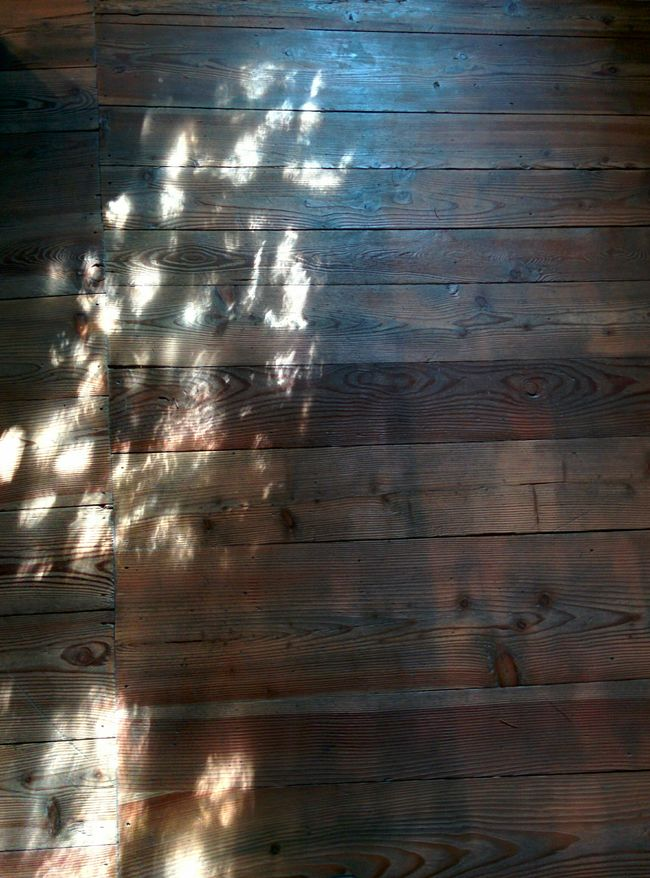 Introd Castellodintrod Reflections the sun on the parquet